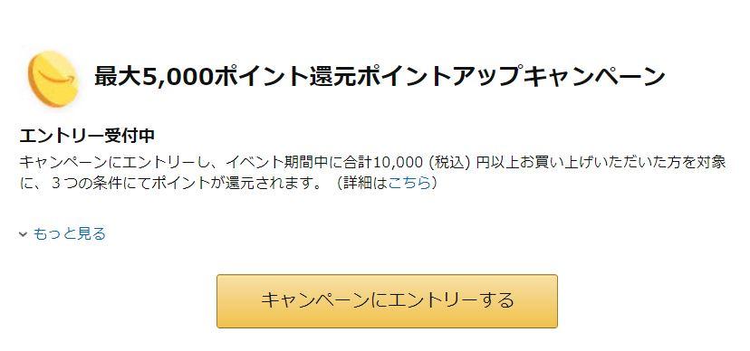 Amazonプライム会員の特典④:大型セール時にAmazonポイントが貯まりやすくなる